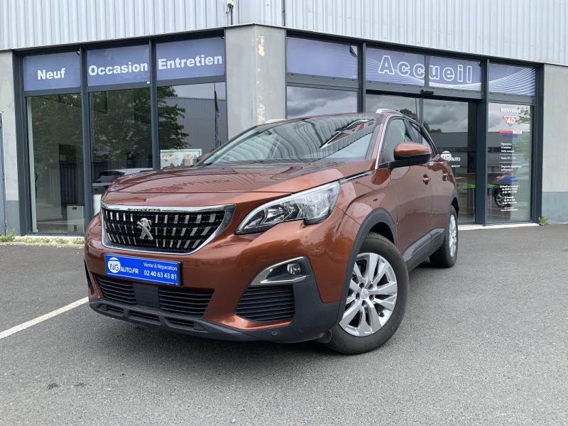 Peugeot 3008 BUSINESS 1.6 BlueHDi 120ch S&S EAT6 Active Business Diesel metallic copper Occasion à vendre