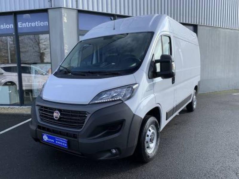 Fiat DUCATO FOURGON EURO 6D-TEMP TOLE 3.3 M H2 2.3 MJT 140 PRO LOUNGE Diesel Blanc Occasion à vendre