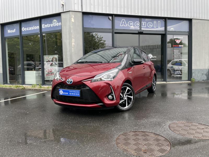 Toyota YARIS HYBRIDE MC2 100h Collection Essence / Courant électrique ROUGE ALLURE TOIT NOIR Occasion à vendre