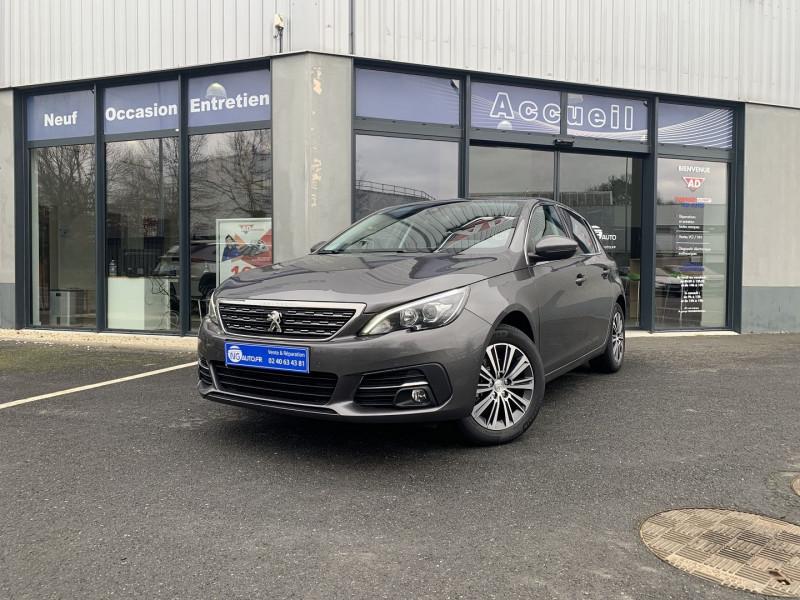 Peugeot 308 BlueHDi 130ch S&S EAT8 Allure Diesel GRIS PLATINIUM Occasion à vendre