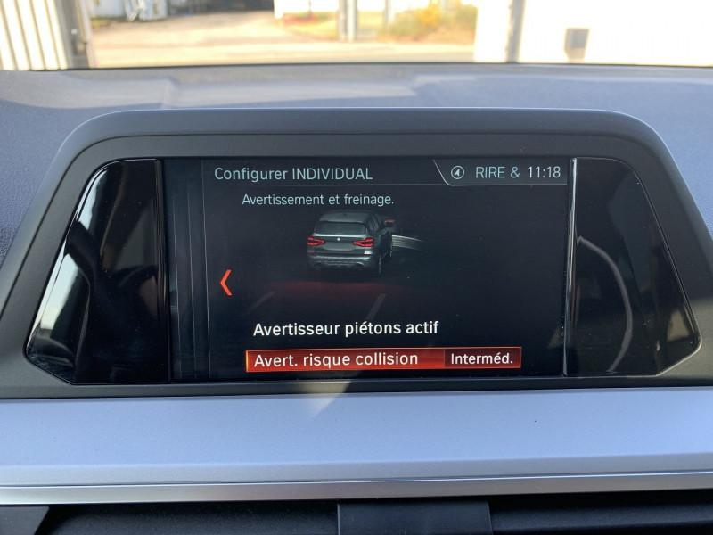 Photo 10 de l'offre de BMW X3 G01 SDRIVE18DA 150CH BUSINESS DESIGN EURO6C à 35780€ chez NG AUTO