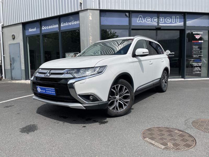 Mitsubishi OUTLANDER 2.2 DI-D 150 4WD Intense Navi Diesel Blanc Occasion à vendre