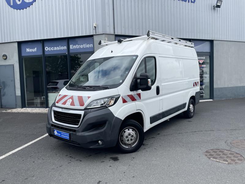 Peugeot BOXER FOURGON TOLE 335 L2H2 BLUEHDI 130 PREMIUM PACK Diesel Blanc Occasion à vendre