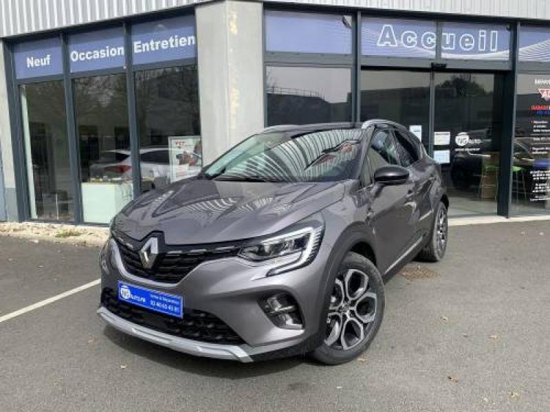 Renault CAPTUR TCe 140 EDC FAP - 21 Intens Essence sans plomb Gris Cassiopée / Toit Noir Etoilé Occasion à vendre