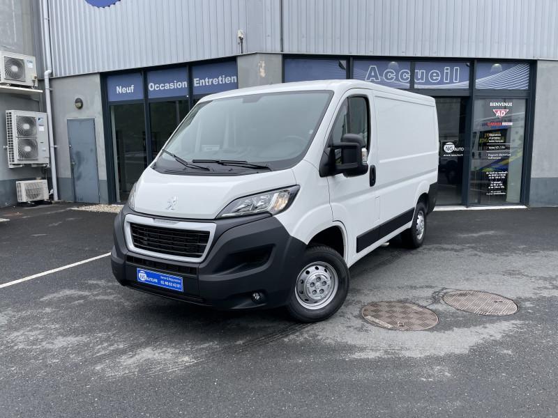 Peugeot BOXER FOURGON TOLE 330 L1H1 BLUEHDI 140 S&S PREMIUM Diesel Blanc Occasion à vendre