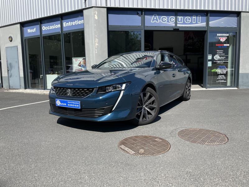 Peugeot 508 SW BlueHDi 160 ch S&S EAT8 GT Line Diesel Bleu Célèbes Occasion à vendre
