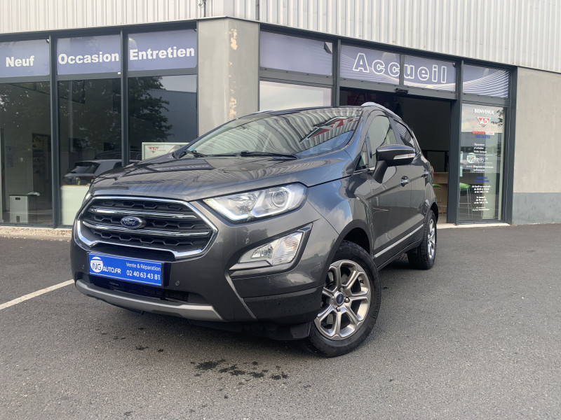 Ford ECOSPORT 1.0 EcoBoost 125 BVM6 Titanium Essence sans plomb GRIS FONCE Occasion à vendre