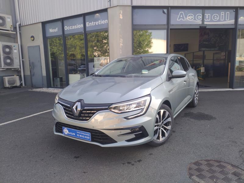 Renault MEGANE IV BERLINE TCe 140 FAP Intens Essence sans plomb GRIS BALTIQUE Occasion à vendre