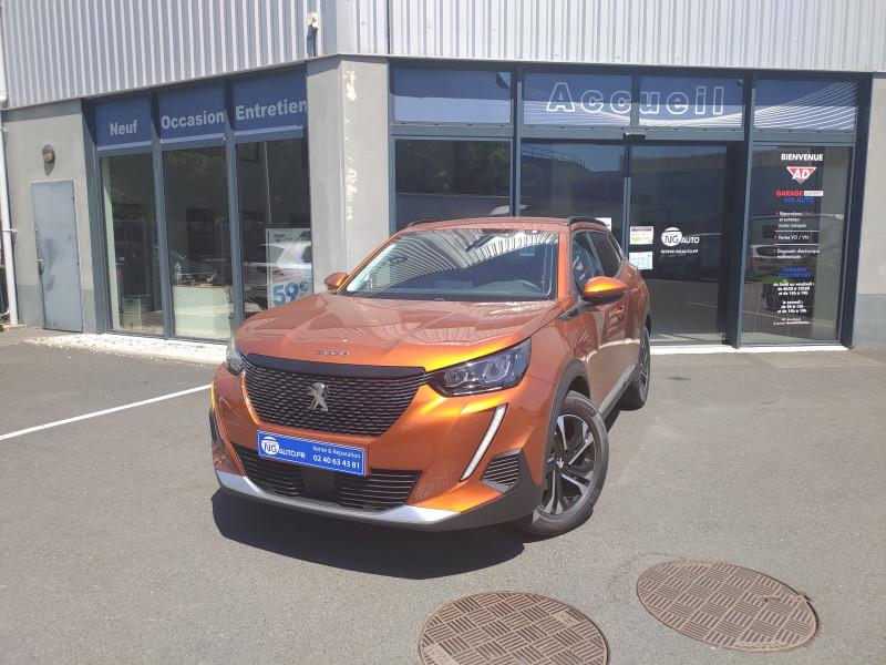 Peugeot 2008 PureTech 130 S&S BVM6 Allure Essence sans plomb ORANGE FUSION Occasion à vendre