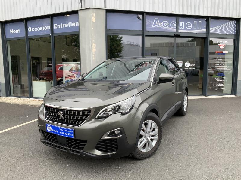 Peugeot 3008 BUSINESS 1.6 BlueHDi 120ch S&S EAT6 Active Business Diesel GRIS AMAZONITE Occasion à vendre