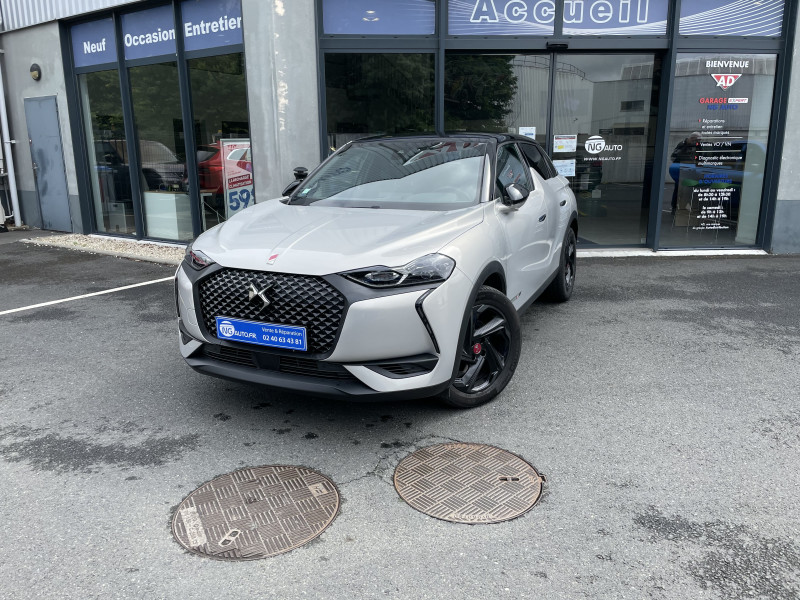 Ds DS3 CROSSBACK BlueHDi 130 S&S EAT8 Performance Line+ Diesel CHRYSTAL PEARL Occasion à vendre
