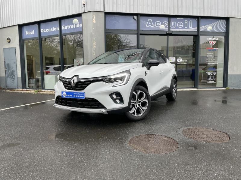 Renault CAPTUR 1.0 TCE 100CH INTENS - 20 Essence sans plomb Blanc Nacré + Pavillon Noir Occasion à vendre