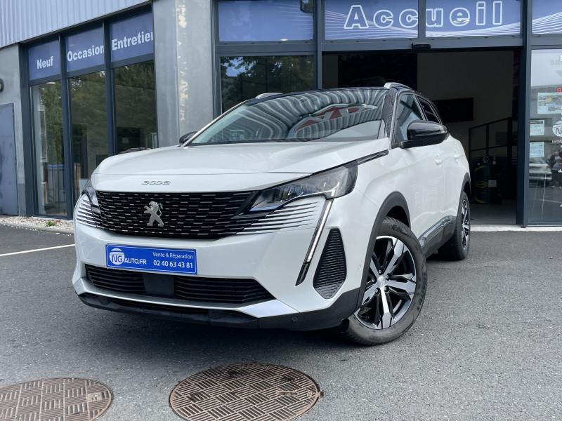 Peugeot 3008 BlueHDi 130ch S&S EAT8 Allure Pack Diesel Blanc Nacré + Pavillon couleur Noir Perla Nera Occasion à vendre
