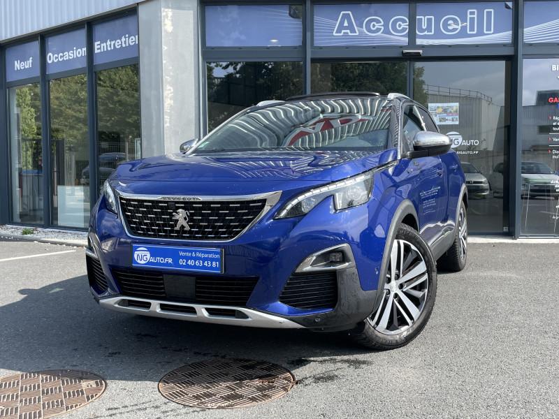 Peugeot 3008 BlueHDi 180ch S&S EAT8 GT Diesel BLEU MAGNETIC Occasion à vendre