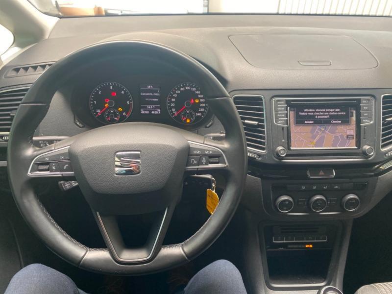 Photo 8 de l'offre de SEAT Alhambra 2.0 TDI 150ch FAP Style Euro6d-T à 23990€ chez Littoral Vendée Automobiles Challans
