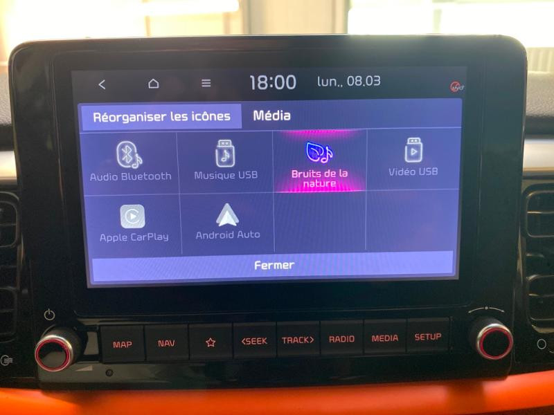 Photo 10 de l'offre de KIA Stonic 1.0 T-GDi 100ch MHEV ISG Lauch Edition à 21290€ chez Littoral Vendée Automobiles Challans