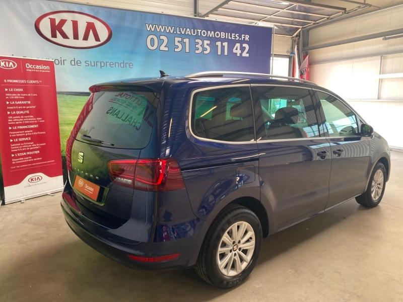 Photo 2 de l'offre de SEAT Alhambra 2.0 TDI 150ch FAP Style Euro6d-T à 23990€ chez Littoral Vendée Automobiles Challans