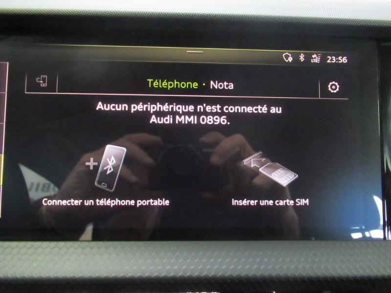 Photo 7 de l'offre de AUDI A1 Sportback 25 TFSI 95ch S line à 21990€ chez Littoral Vendée Automobiles Challans