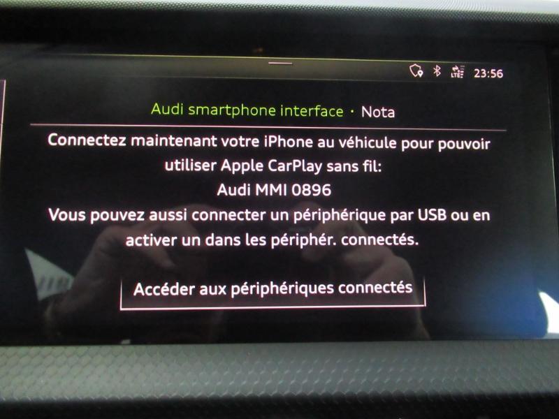 Photo 6 de l'offre de AUDI A1 Sportback 25 TFSI 95ch S line à 21990€ chez Littoral Vendée Automobiles Challans