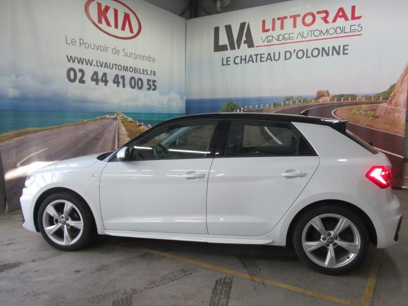 Photo 21 de l'offre de AUDI A1 Sportback 25 TFSI 95ch S line à 21990€ chez Littoral Vendée Automobiles Challans