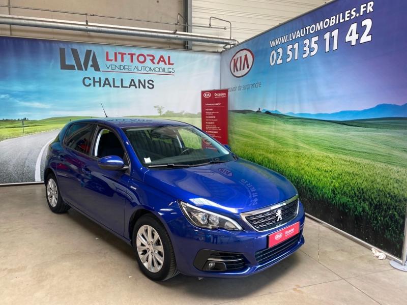 Peugeot 308 1.6 BlueHDi 120ch S&S Style EAT6 Diesel BLEU FONCE Occasion à vendre