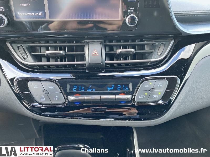 Photo 8 de l'offre de TOYOTA C-HR 122h Edition 2WD E-CVT MC19 à 24990€ chez Littoral Vendée Automobiles Challans