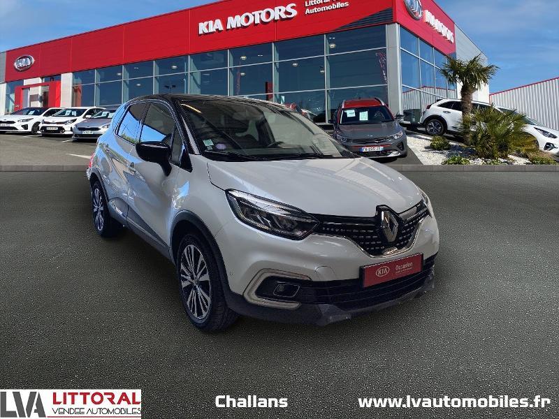 Renault Captur 1.2 TCe 120ch energy Initiale Paris EDC Essence BLANC Occasion à vendre