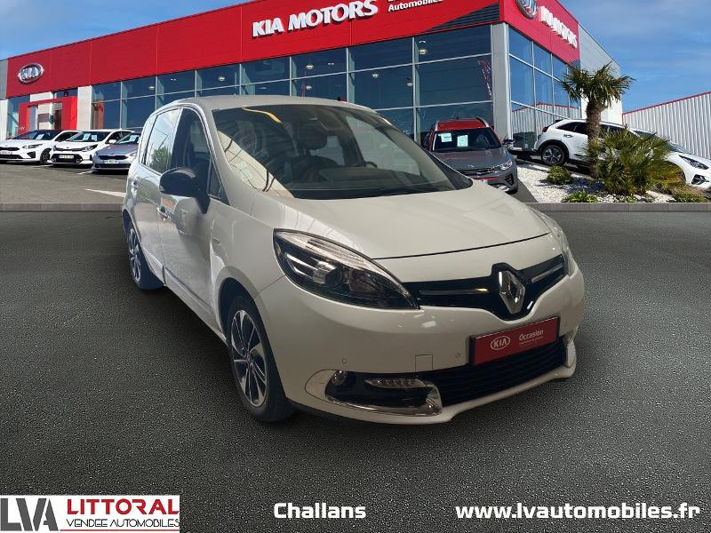Renault Scenic 1.5 dCi 110ch energy Bose eco² 2015 Diesel BLANC Occasion à vendre
