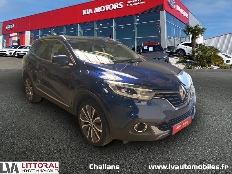 Renault Kadjar 1.6 dCi 130ch energy Intens Diesel BLEU F Occasion à vendre