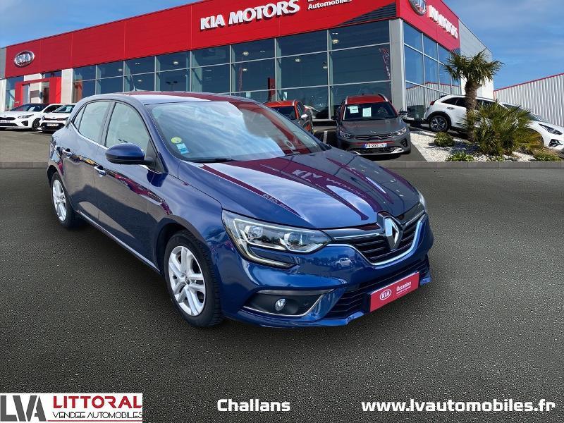 Renault Megane 1.5 dCi 110ch energy Business Diesel BLEU F Occasion à vendre