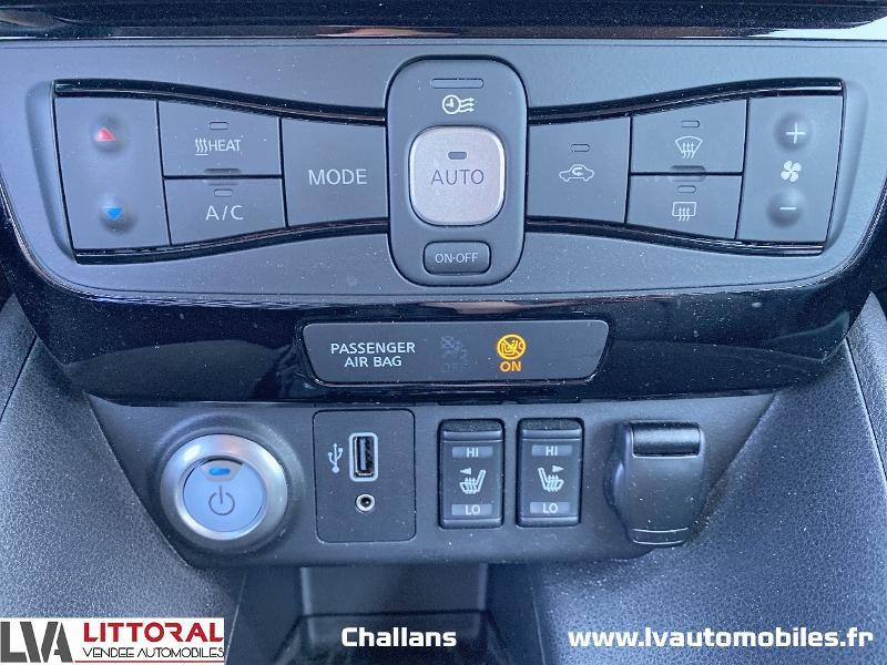 Photo 8 de l'offre de NISSAN Leaf 150ch 40kWh Tekna 19 à 24990€ chez Littoral Vendée Automobiles Challans