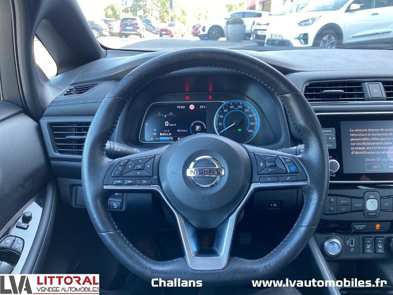 Photo 6 de l'offre de NISSAN Leaf 150ch 40kWh Tekna 19 à 24990€ chez Littoral Vendée Automobiles Challans