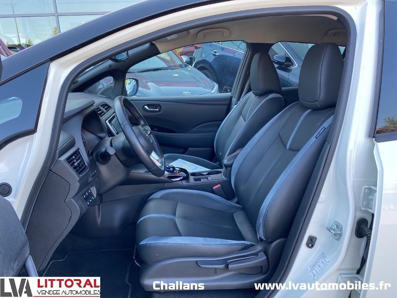 Photo 5 de l'offre de NISSAN Leaf 150ch 40kWh Tekna 19 à 24990€ chez Littoral Vendée Automobiles Challans