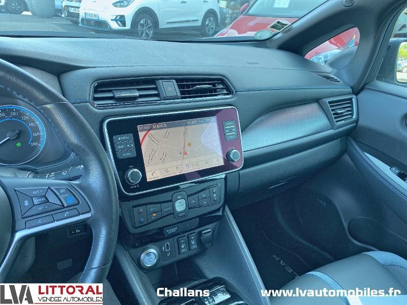 Photo 11 de l'offre de NISSAN Leaf 150ch 40kWh Tekna 19 à 24990€ chez Littoral Vendée Automobiles Challans