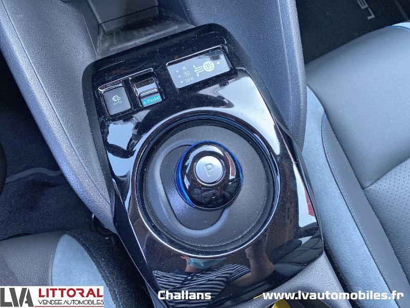 Photo 7 de l'offre de NISSAN Leaf 150ch 40kWh Tekna 19 à 24990€ chez Littoral Vendée Automobiles Challans