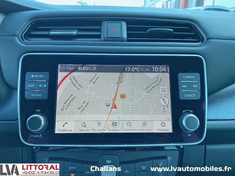Photo 10 de l'offre de NISSAN Leaf 150ch 40kWh Tekna 19 à 24990€ chez Littoral Vendée Automobiles Challans
