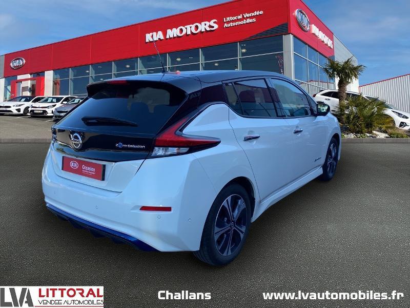 Photo 2 de l'offre de NISSAN Leaf 150ch 40kWh Tekna 19 à 24990€ chez Littoral Vendée Automobiles Challans