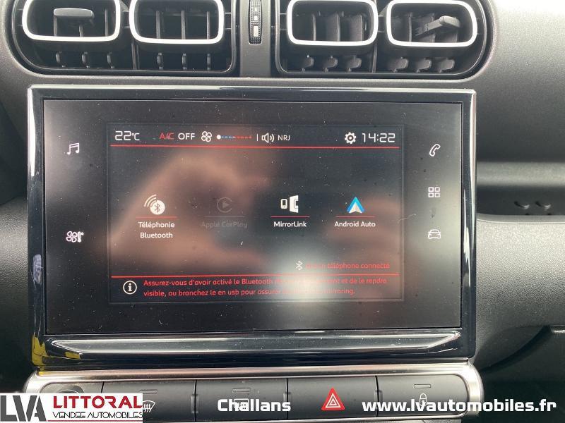 Photo 10 de l'offre de CITROEN C3 Aircross BlueHDi 100ch Feel à 13990€ chez Littoral Vendée Automobiles Challans