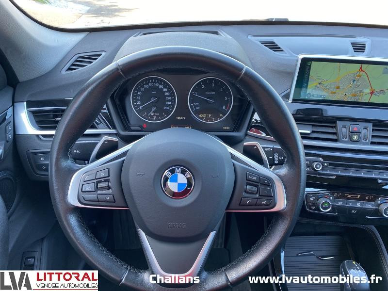 Photo 19 de l'offre de BMW X1 xDrive20dA 190ch xLine à 28990€ chez Littoral Vendée Automobiles Challans