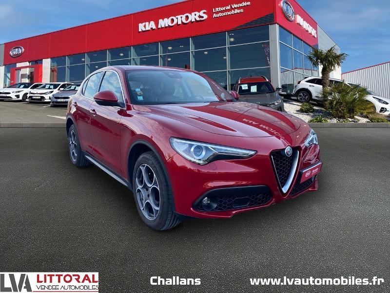 Photo 1 de l'offre de ALFA ROMEO Stelvio 2.2 Diesel 210ch Lusso Q4 AT8 à 31990€ chez Littoral Vendée Automobiles Challans