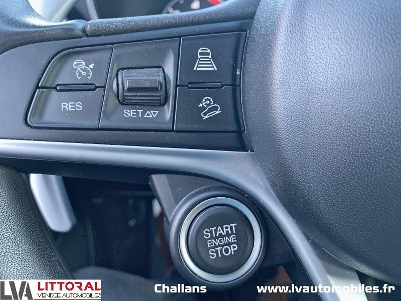 Photo 19 de l'offre de ALFA ROMEO Stelvio 2.2 Diesel 210ch Lusso Q4 AT8 à 31990€ chez Littoral Vendée Automobiles Challans