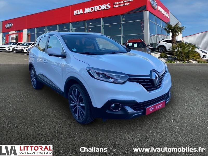 Renault Kadjar 1.2 TCe 130ch energy Intens Essence BLANC Occasion à vendre