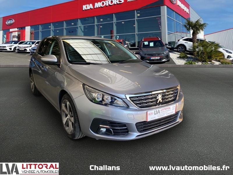 Peugeot 308 1.5 BlueHDi 100ch E6.c S&S Allure Diesel GRIS ARTENSE Occasion à vendre