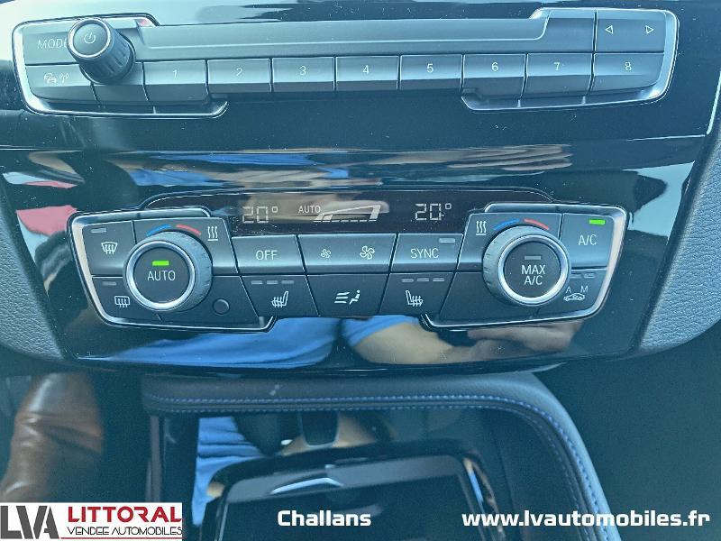 Photo 8 de l'offre de BMW X2 sDrive18dA 150ch M Sport X Euro6d-T à 35990€ chez Littoral Vendée Automobiles Challans
