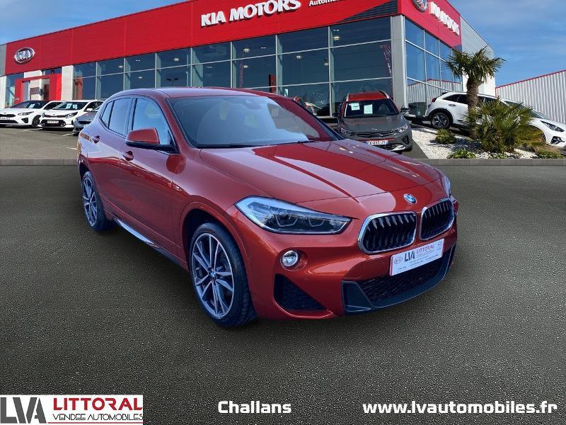 Photo 1 de l'offre de BMW X2 sDrive18dA 150ch M Sport X Euro6d-T à 35990€ chez Littoral Vendée Automobiles Challans