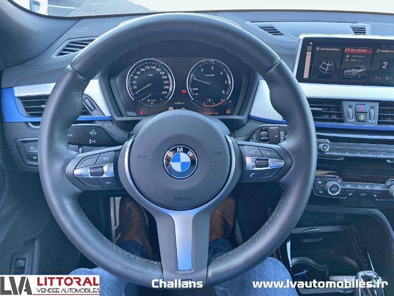 Photo 6 de l'offre de BMW X2 sDrive18dA 150ch M Sport X Euro6d-T à 35990€ chez Littoral Vendée Automobiles Challans