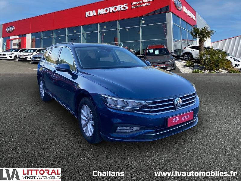 Volkswagen Passat SW 2.0 TDI EVO 150ch Business DSG7 Diesel Bleu Métal Occasion à vendre