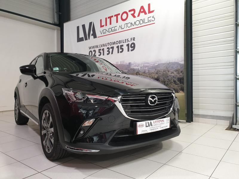 Mazda CX-3 2.0 SKYACTIV-G 121ch Exclusive Edition BVA Euro6d-T Essence JET BLACK Neuf à vendre