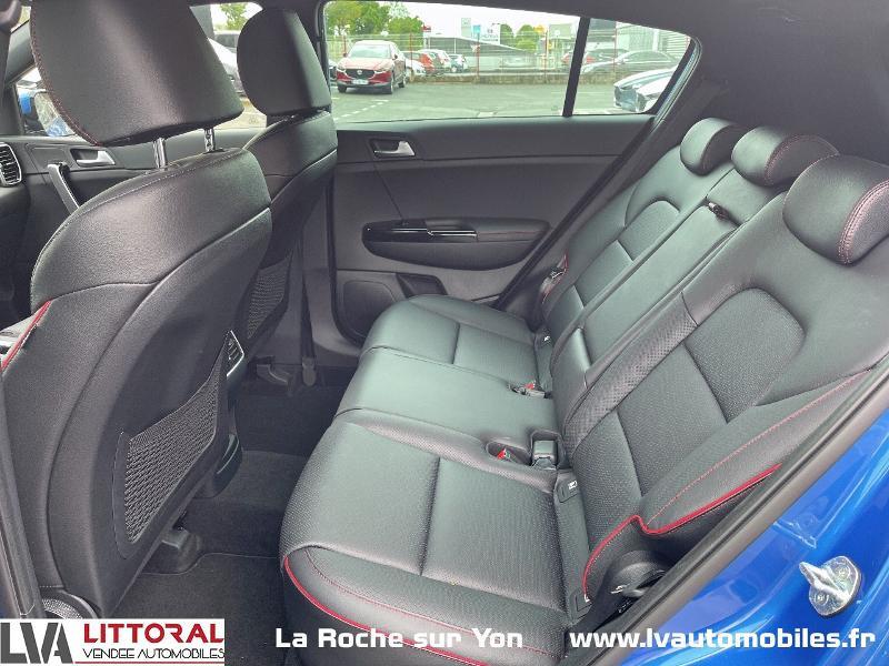 Photo 12 de l'offre de KIA Sportage 1.6 CRDi 136ch MHEV GT Line 4x2 DCT7 à 30990€ chez Littoral Vendée Automobiles Mouilleron Le Captif