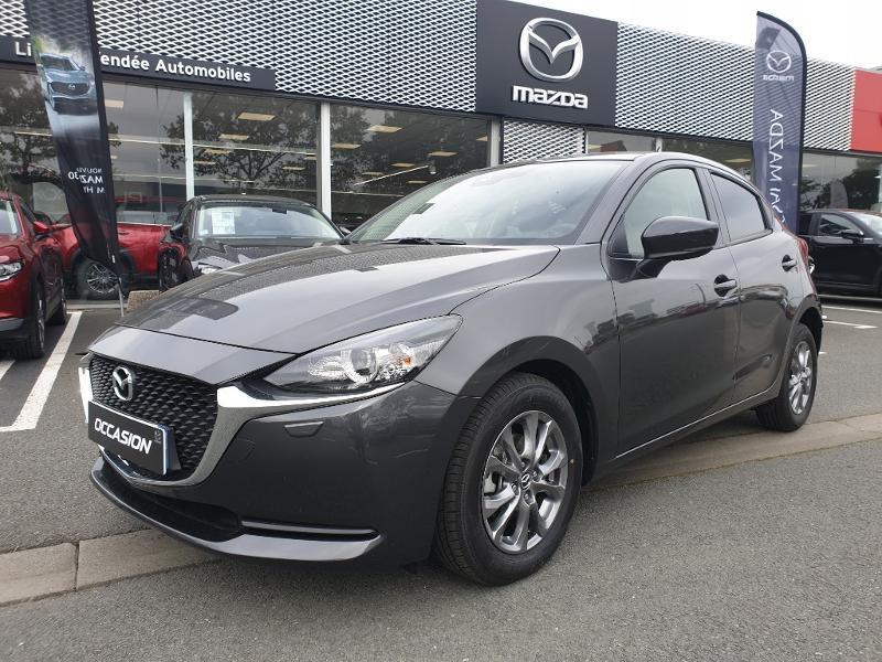 Mazda Mazda 2 1.5 SKYACTIV-G M-Hybrid 90ch Elégance Essence MACHINE GRAY Neuf à vendre